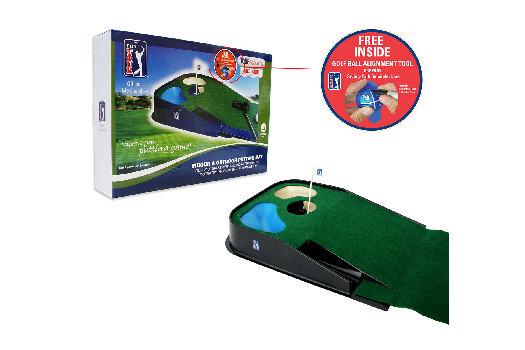 Pga Tour Indoor Amp Outdoor Putting Matte Online Golf