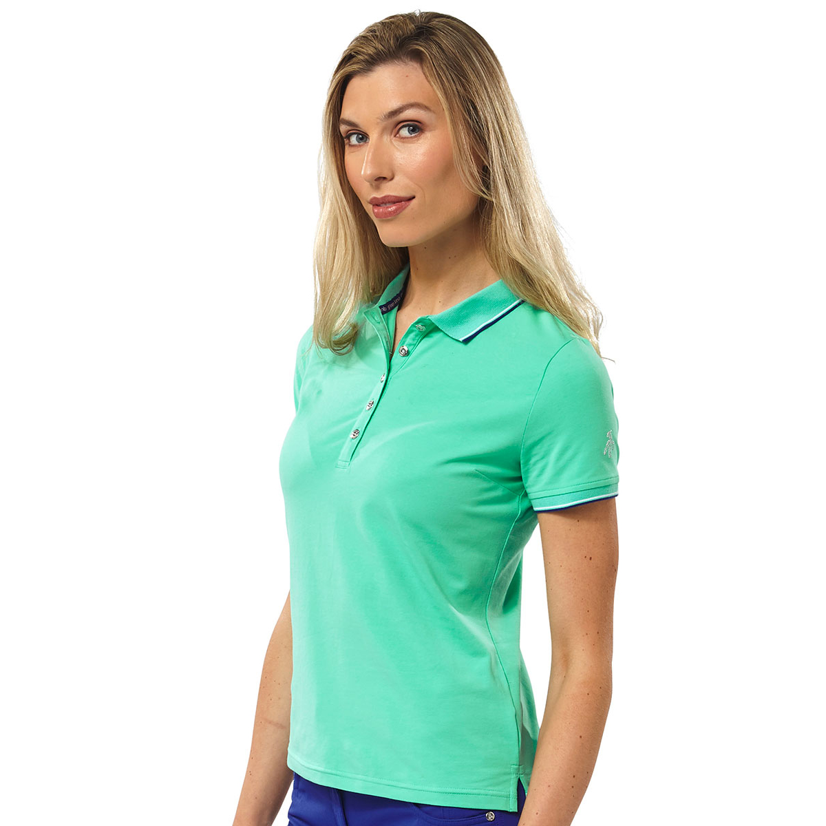 green lamb patsy jersey club poloshirt f r damen online golf. Black Bedroom Furniture Sets. Home Design Ideas