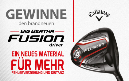Callaway Big Bertha Fusion Competition