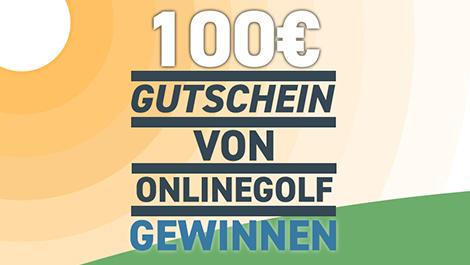 100€ Gutschein von OnlineGolf Gewinnen