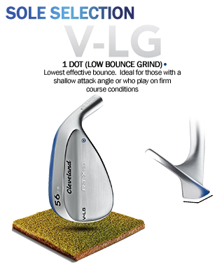 Cleveland Golf RTX-3 Wedges Bounce