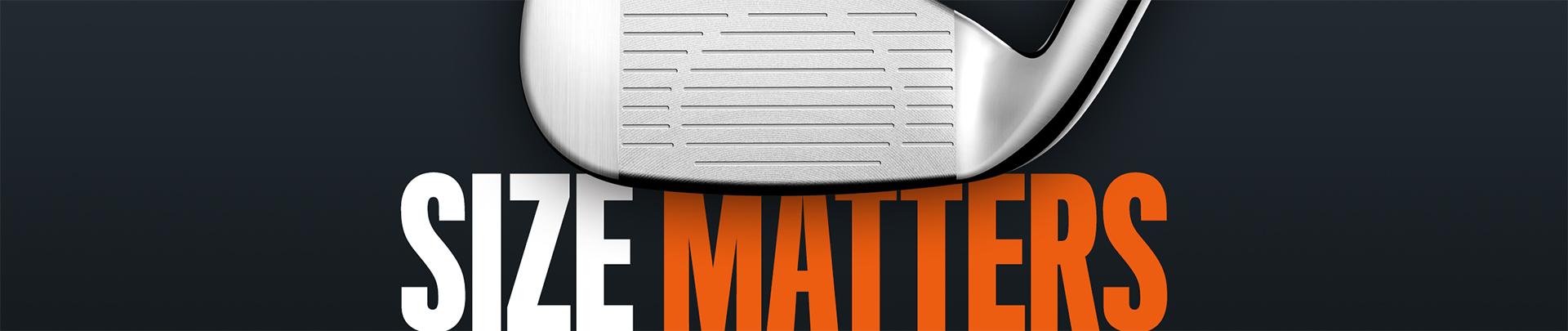 Cobra Golf King Oversize Irons - Size Matters