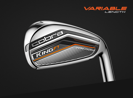 Buy Cobra King F7 Irons - Variable Length