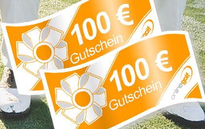 OnlineGolf 100€ Gutschein